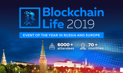 Blockchain Life 2019 October 16th—17th , Moscow, Expocentre