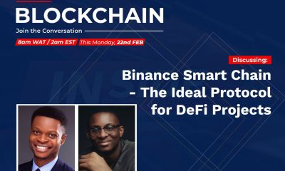 """Binance Smart Chain – The Ideal Protocol for DeFi Projects"", the Xend Finance Aronu Ugochukwu"