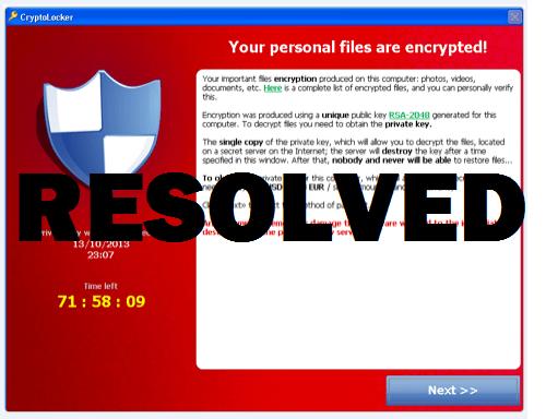 Защита от троянов шифровальщиков.