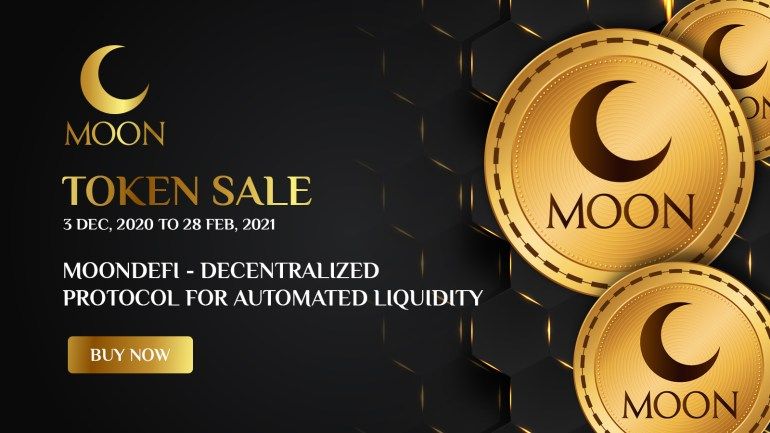 MoonDefi Token Sale