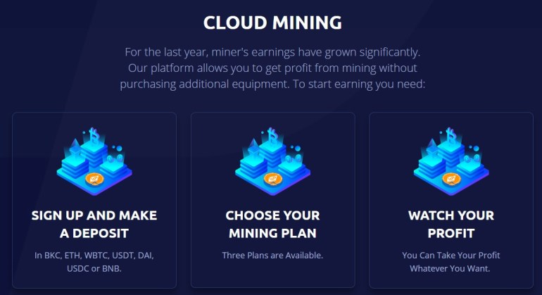 BucksCake Cloud Mining