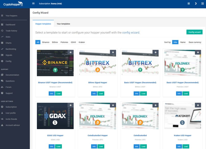 CryptoHopper Trading Bot Automatic