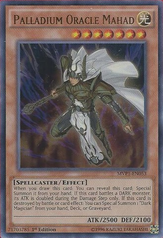 Palladium Oracle Mahad  MVP1EN053  Ultra Rare  1st