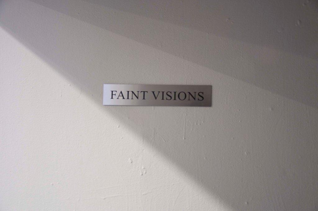 Faint Visions Installation  Entrance Door