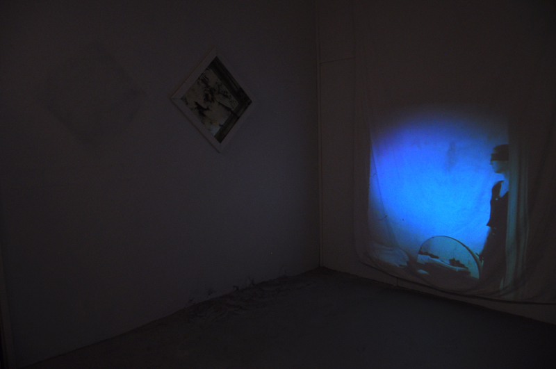 Faint Visions Installation Entrance Room or the White Room