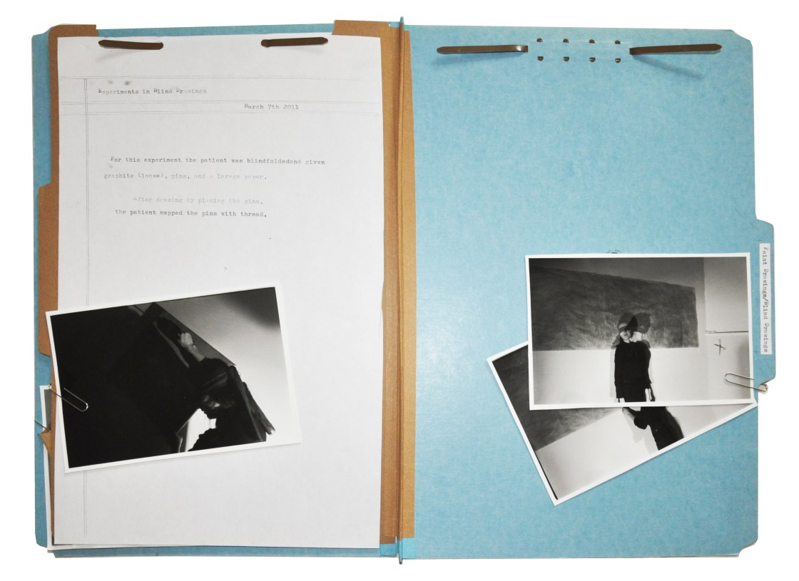 'Blind Drawings' Folder