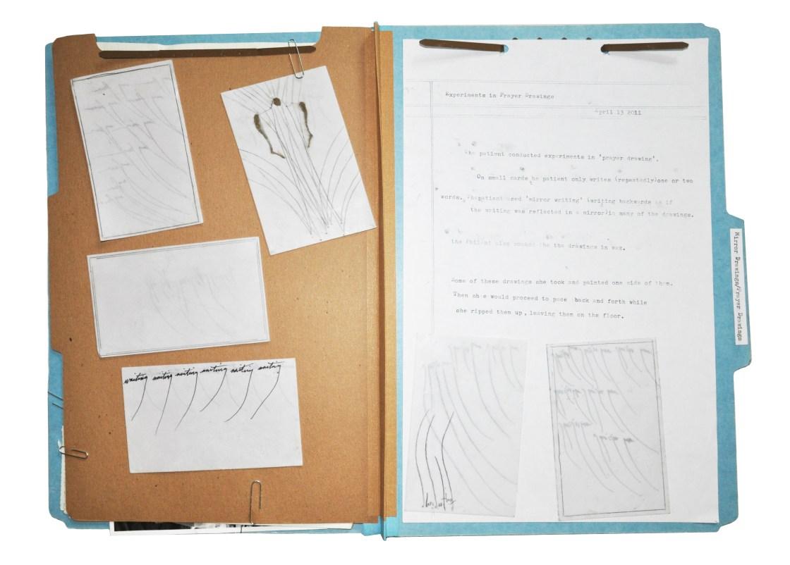 'Prayer Drawings' Folder by Crystal Dyer