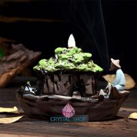 backflow incense holder