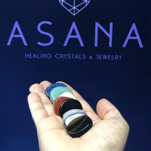 crystal chakra stones