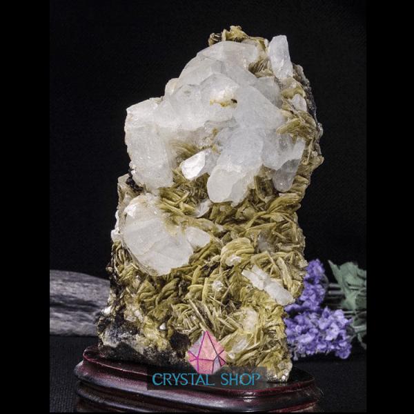 large crystal cluster
