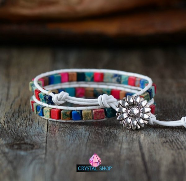 multi gemstone bracelet
