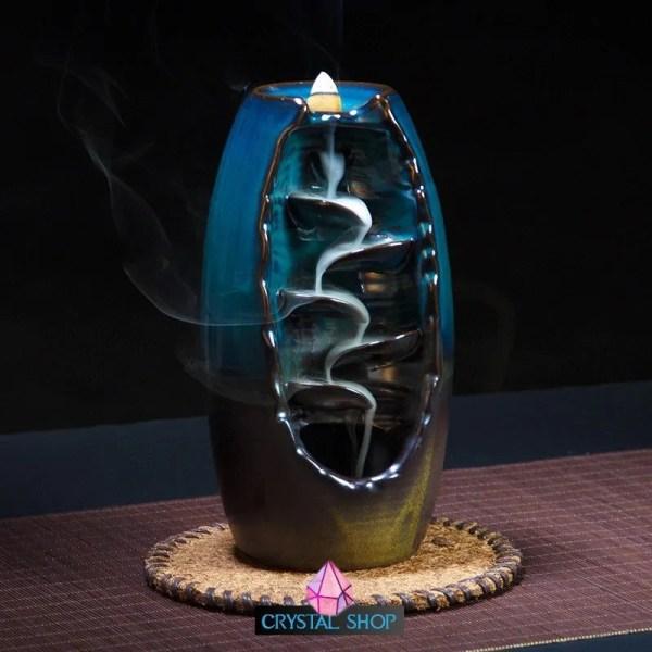 waterfall backflow incense burner