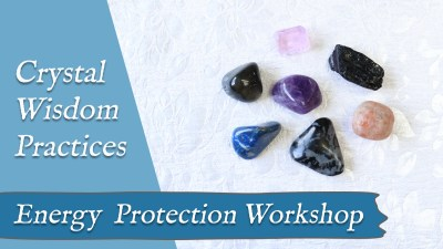crystal practice for energy protection