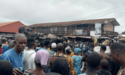 Many Feared Dead, Others Injured As Tanker Rams Into Ibadan Market-Crystal News