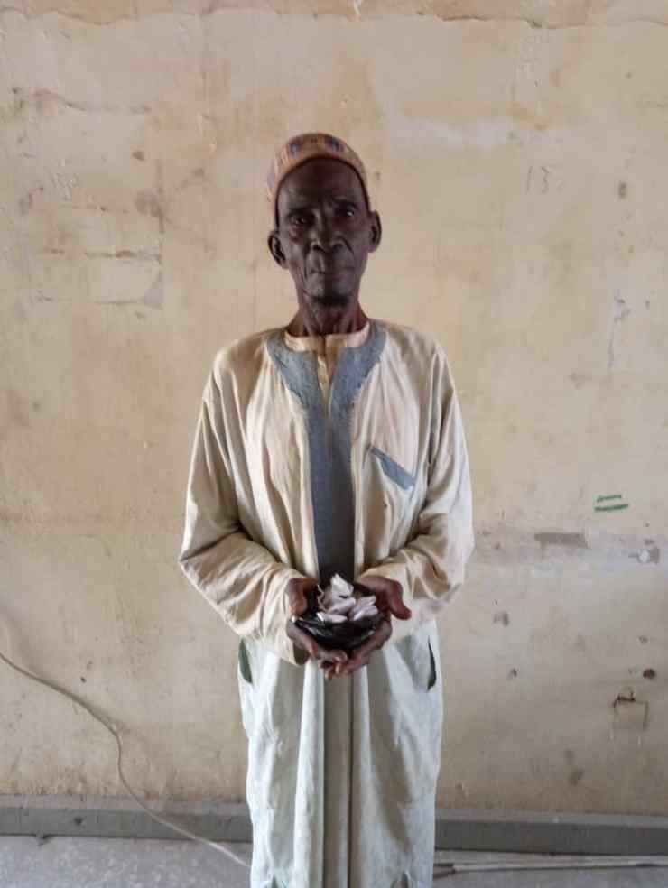 NDLEA Arrests 90-Year-Old For Selling Drugs To Youths In Katsina, Ondo-Crystal News