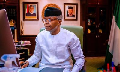 2023: If You Don't Bid, You Can't Win, Osinbajo Tells Youths