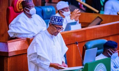 President Buhari Presents N16.39 Trillion 2022 Budget To National Assembly