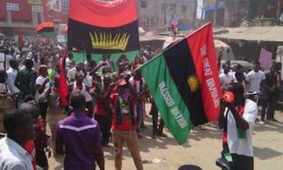 IPOB Members Attack Police Station In Imo State