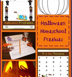 Halloween Homeschooling Freebies by subject! [ 1155 x 751 Pixel ]