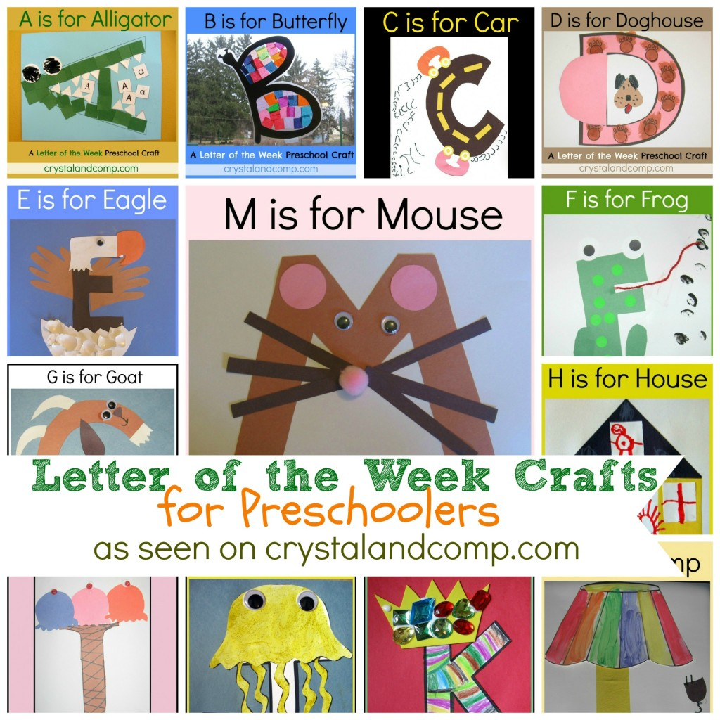 Preschool Letter Worksheets