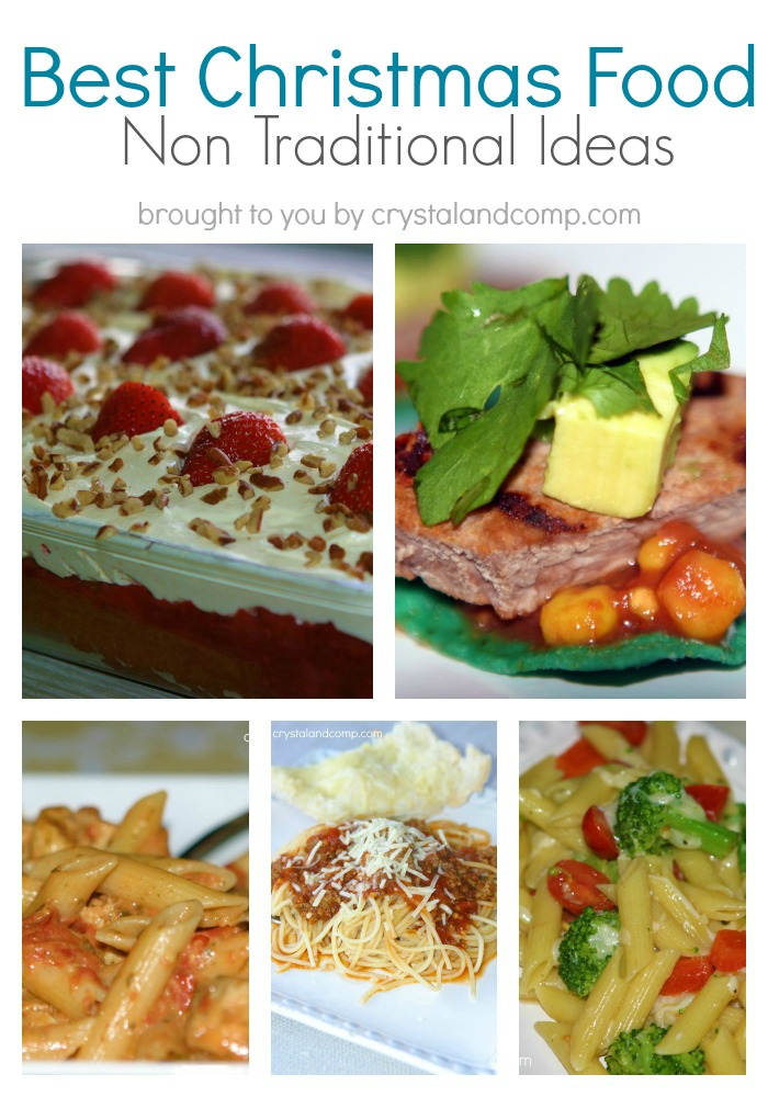 Non Tradional Foods To Cook For Christmas : tradional, foods, christmas, Christmas, Food:, Traditional, Ideas