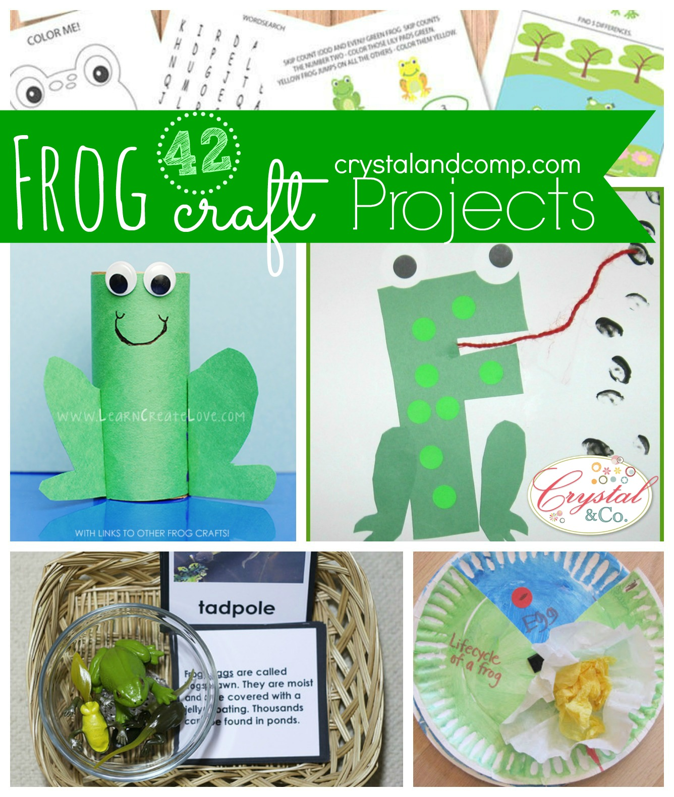 42 Frog Craft Activities For Kids