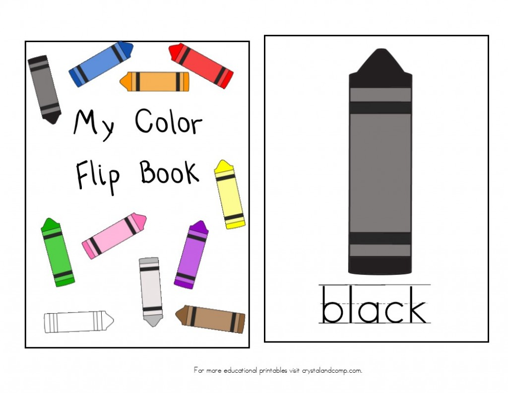 Teach Colors To Kids Free Printable