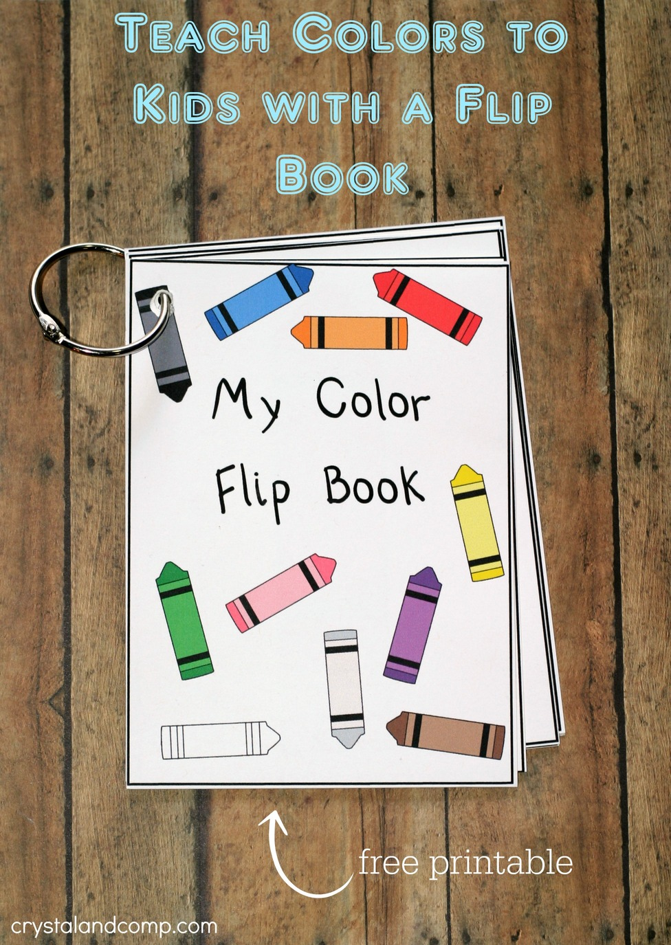 Teach Colors To Kids Free Printable