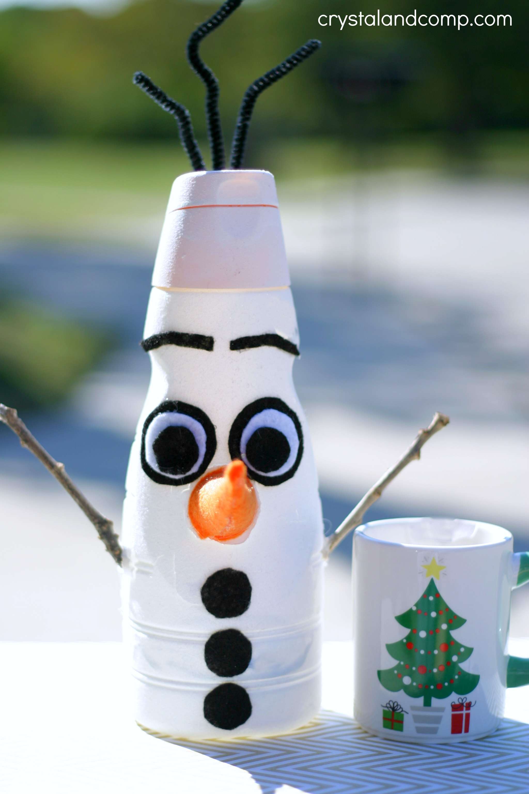Olaf From Frozen Christmas Craft
