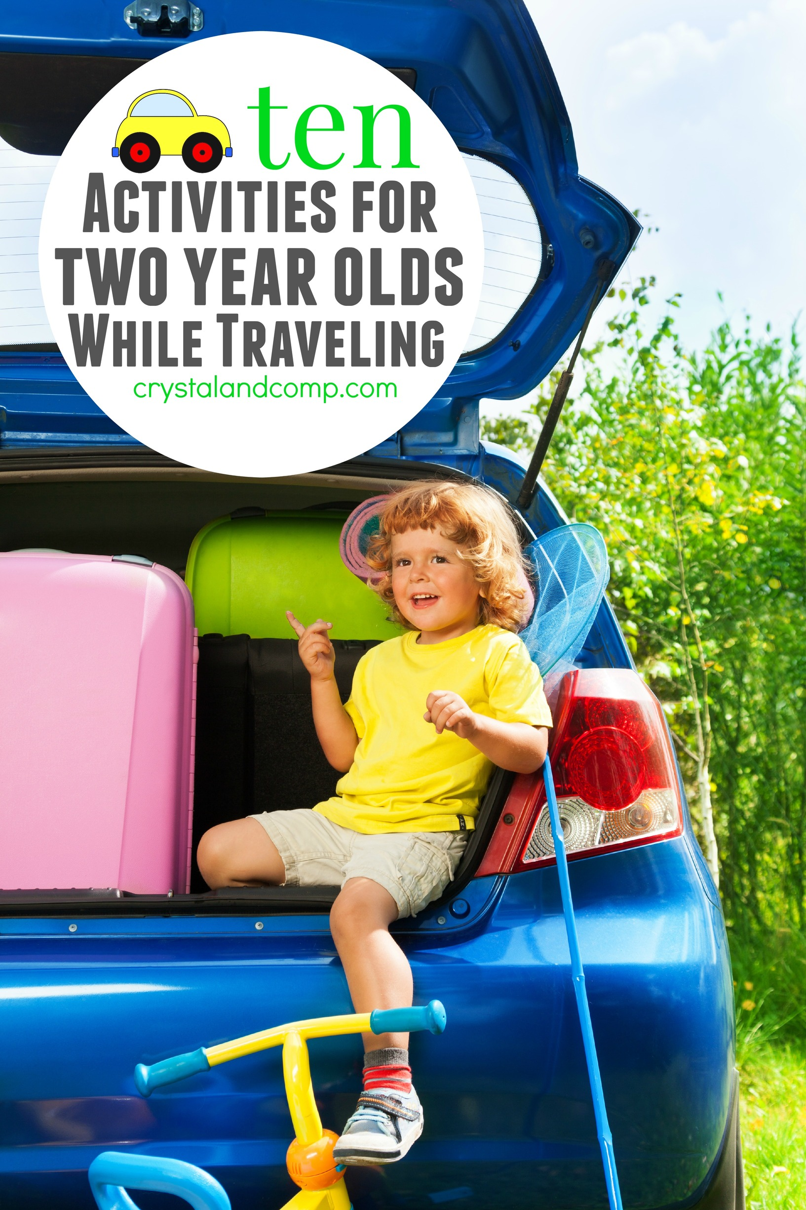 Activities For Kids 10 Ideas For 2 Year Olds In The Car