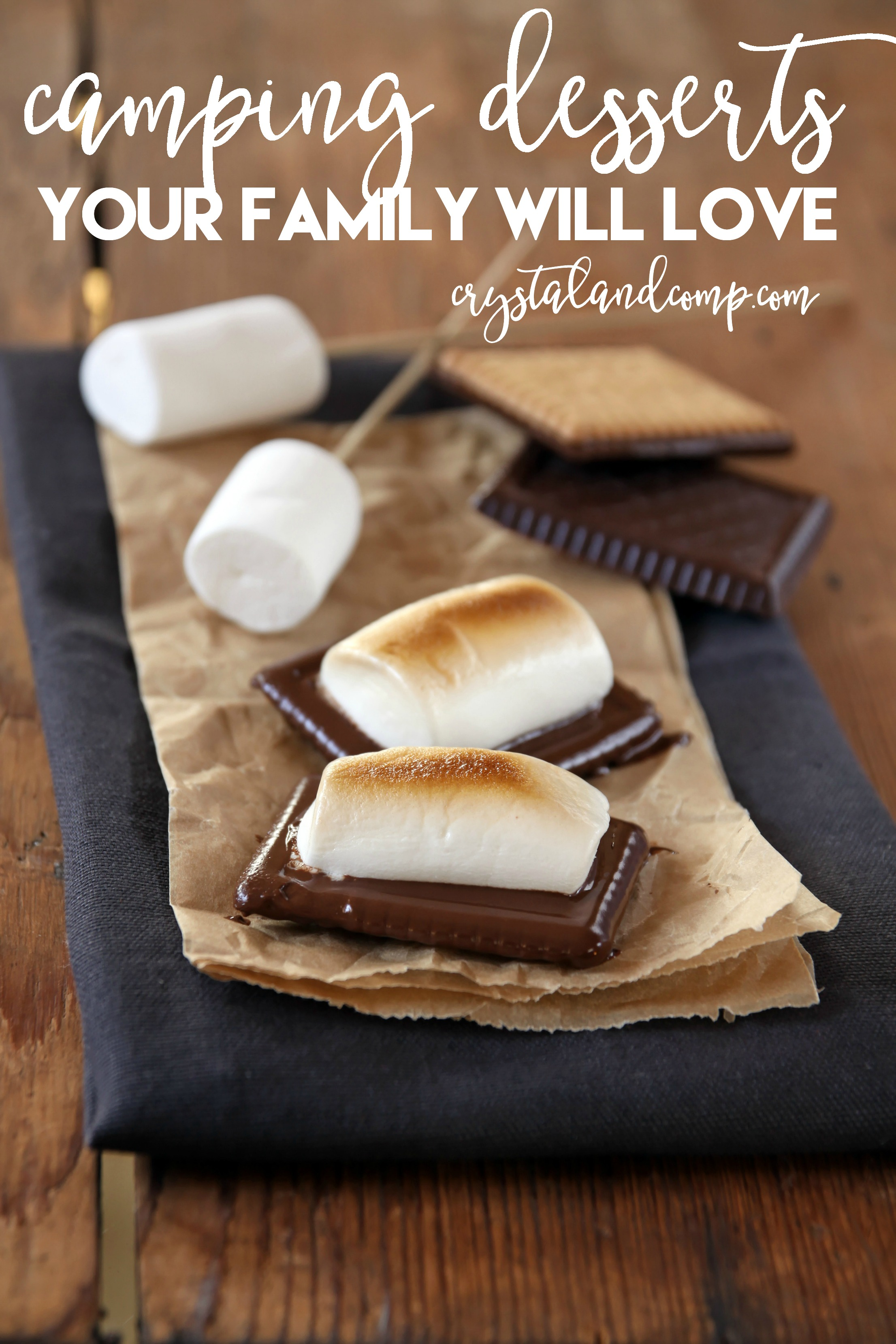 Camping Desserts And Snacks