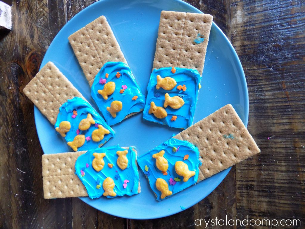 A Preschool Snack For U Is For Underwater Letter Of The