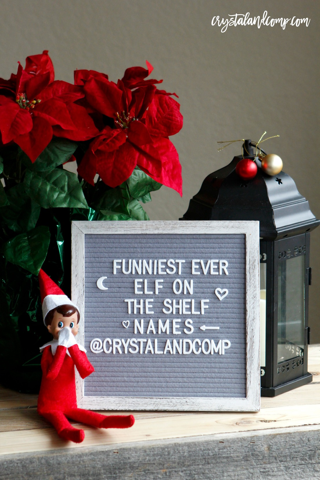 Funny Elf On The Shelf Names