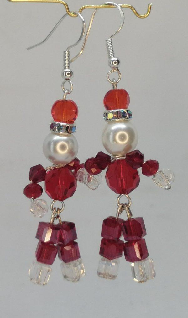Father Christmas Earrings