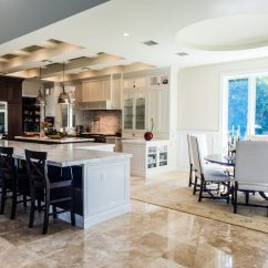 Large White Kitchen Island Affordable Countertops With Two Islands Crystal Cabinets