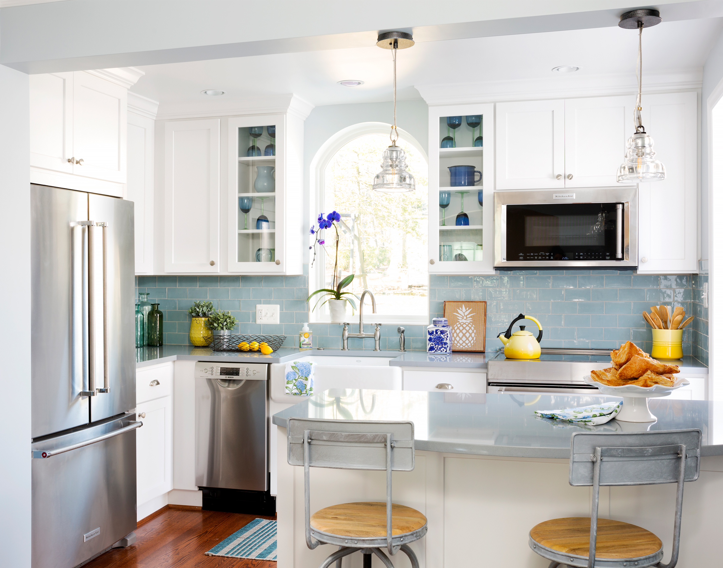 Small Kitchen Ideas To Maximize Your Space More Crystal Cabinets
