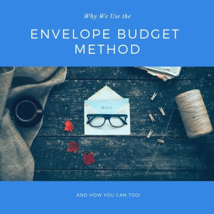 use the envelope budget method and you can too