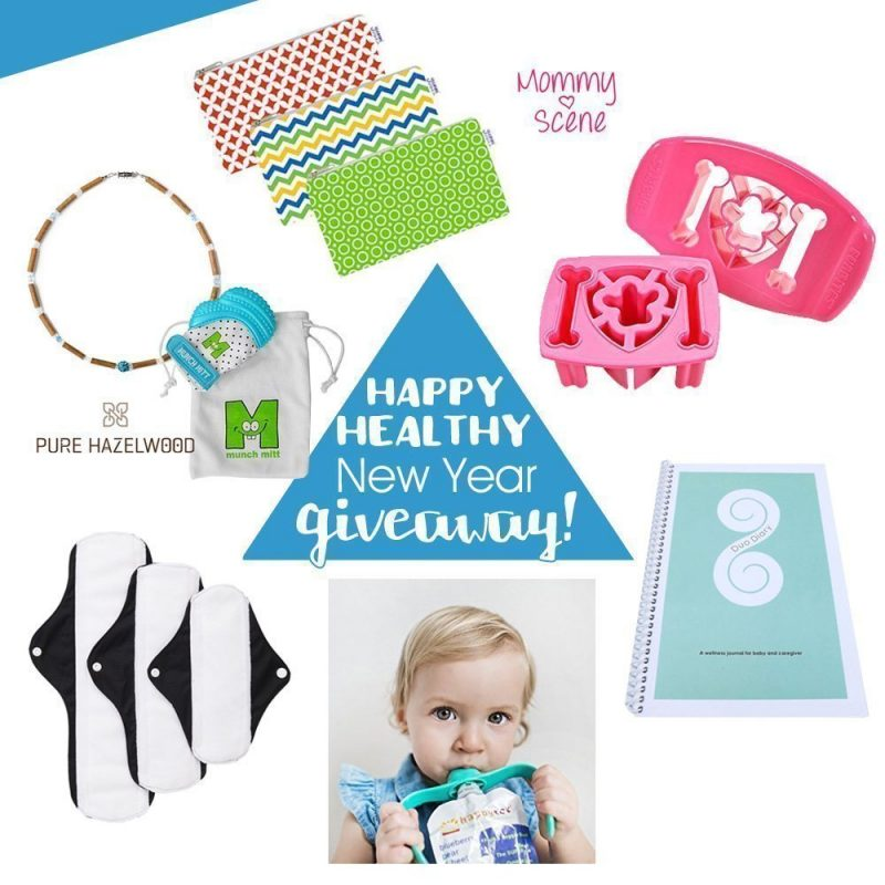 Happy, Healthy New Year Giveaway