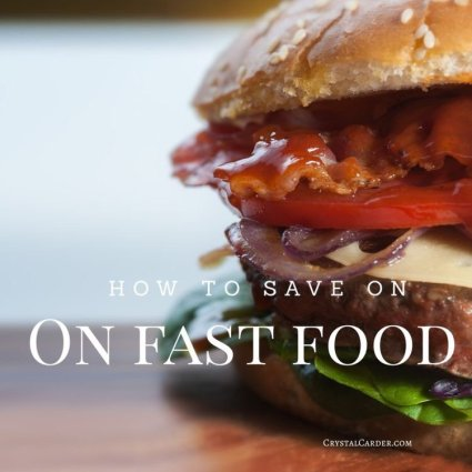 Save Money On Fast Food With These Tricks