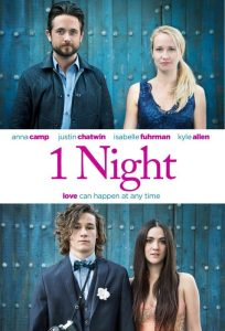 1 Night Starring Anna Call & Justin Chatwin Digital Download Giveaway