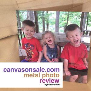CanvasOnSale.com Metal Photo Review