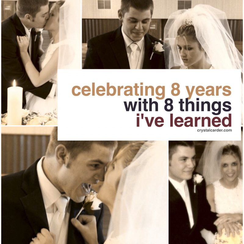 Celebrating Our 8th Year Wedding Anniversary: 8 Things I've Learned