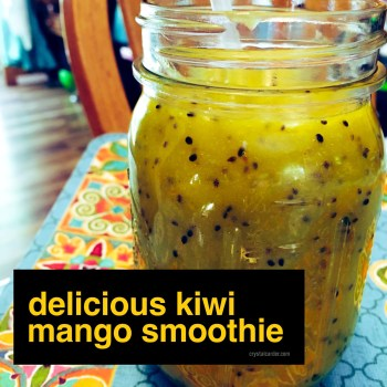 Delicious Kiwi Mango Smoothie