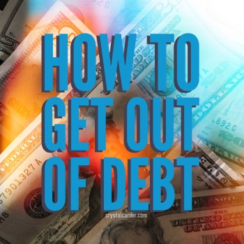 Debt Advice: How to Get Out of Debt