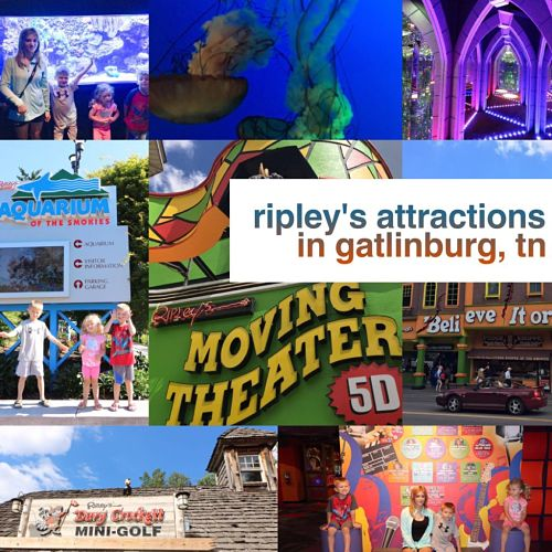 Ripley's Attractions In Gatlinburg, TN