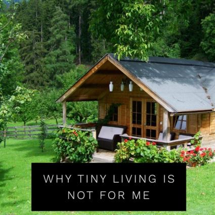 Why Tiny House Living Is Not for Me