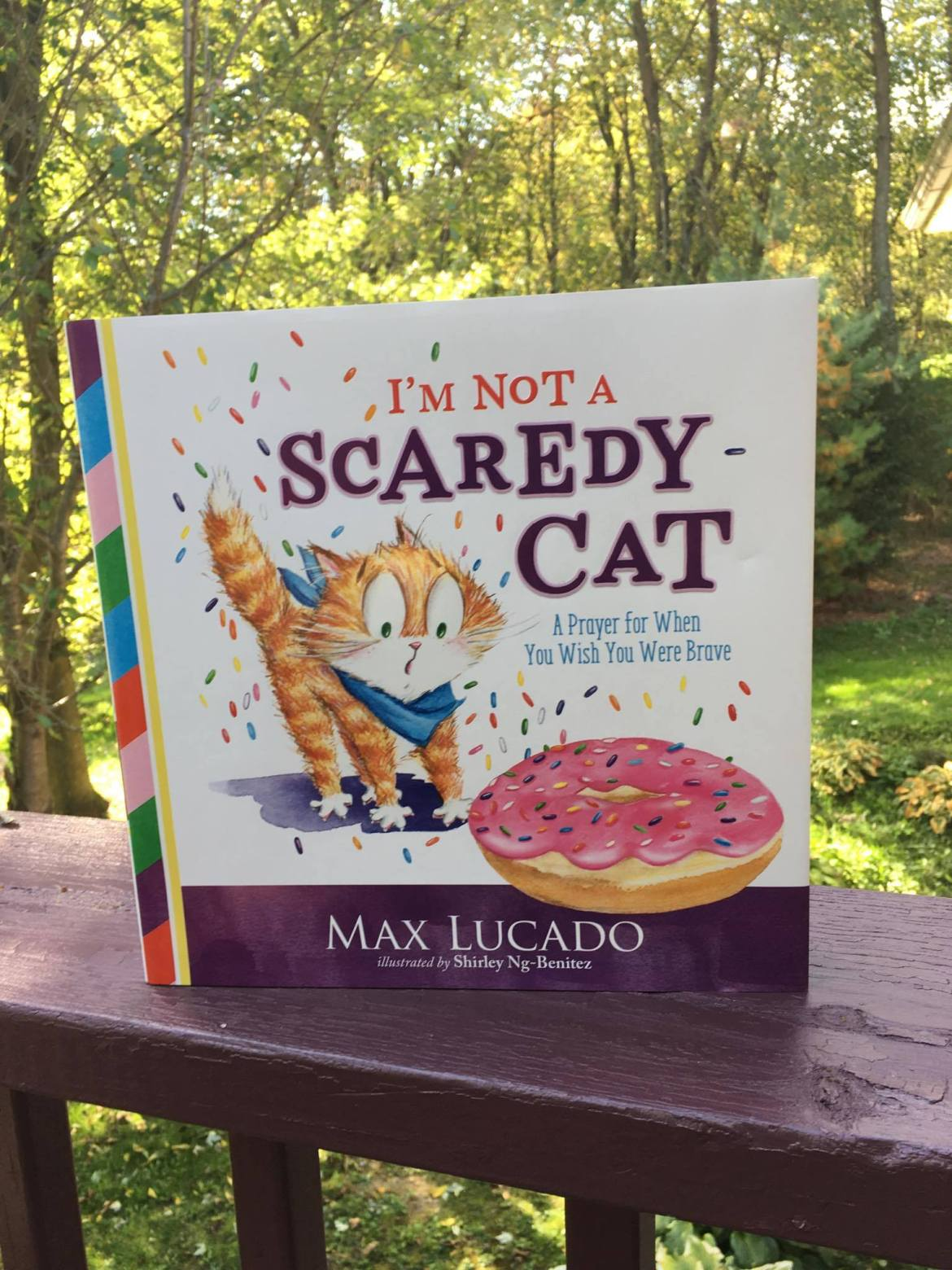 I'm Not A Scaredy Cat By Max Lucado Book Review