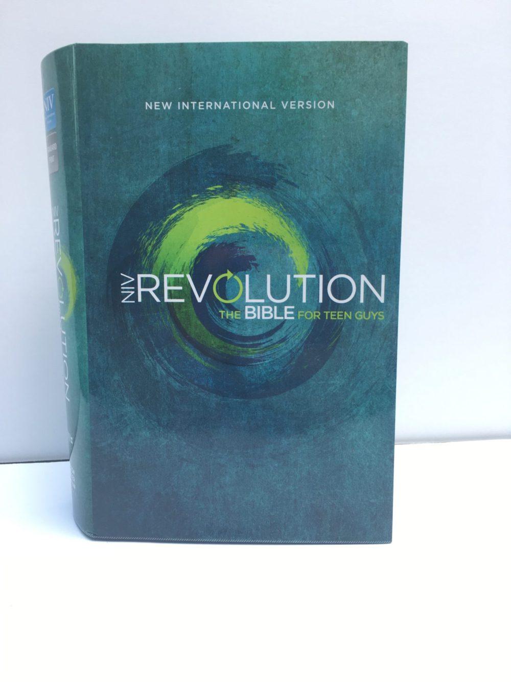 NIV The Revolution Bible for Teen Guys