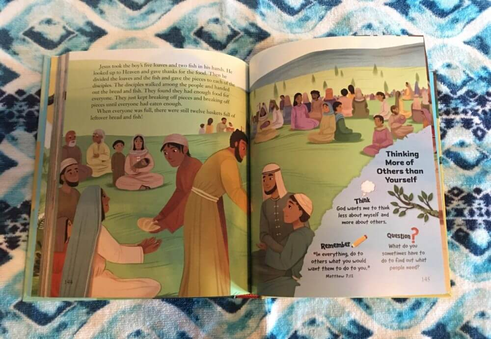 Rick Warren's God's Big Plans For Me Storybook Bible Review and Giveaway