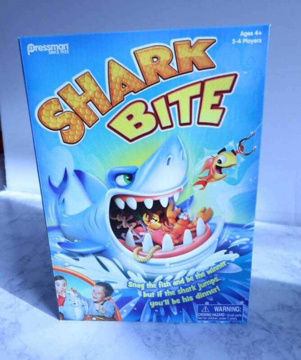 Shark Bite Goliath Games Family Fun Games ad